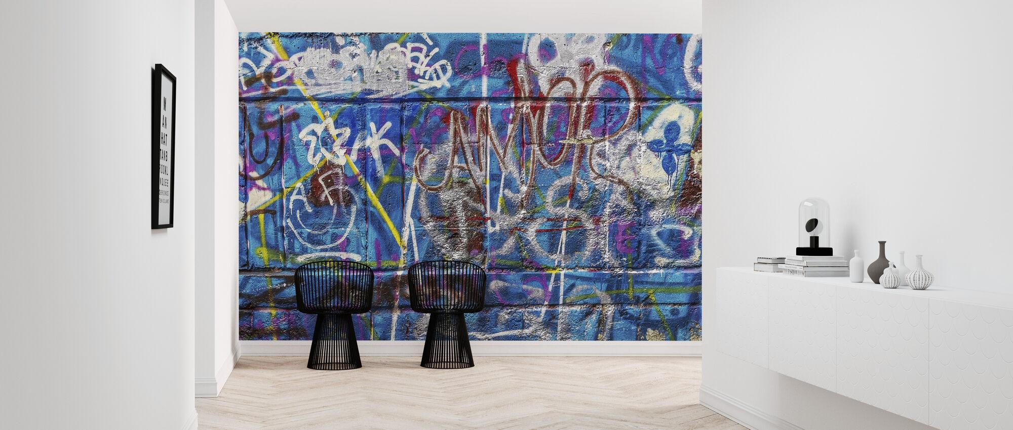 Wall Street Art - Behang - Gang