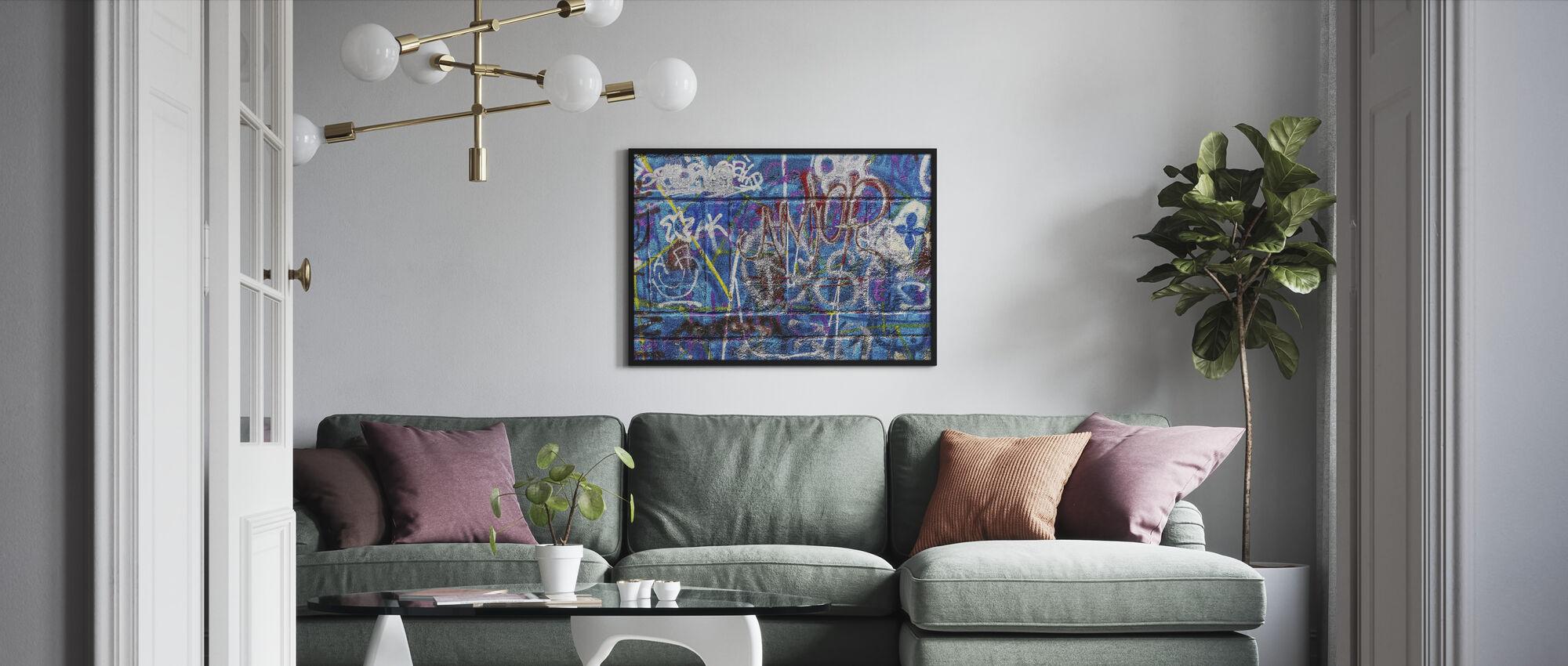 Wall Street Art - Framed print - Living Room