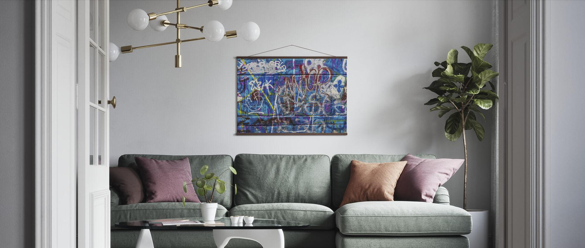 Wall Street Art - Poster - Living Room