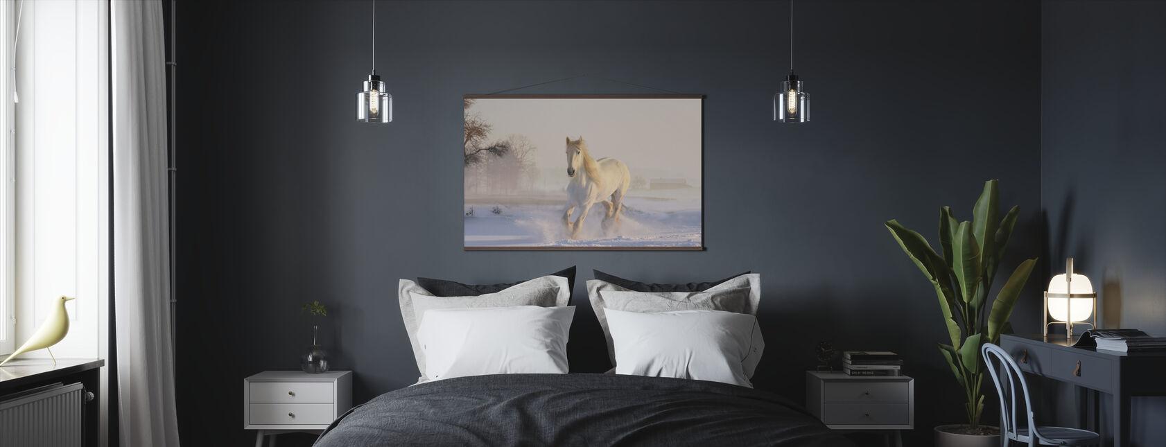 White Horse - Poster - Bedroom