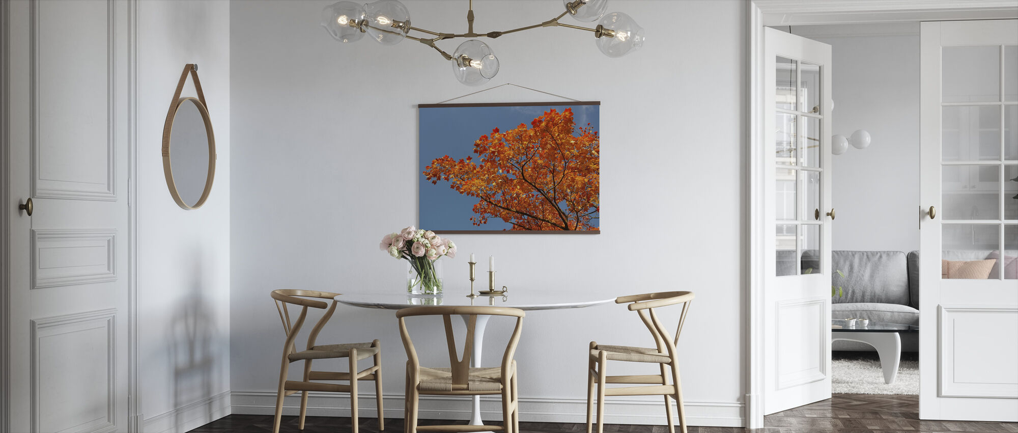 Maple Leaves - Poster - Kitchen