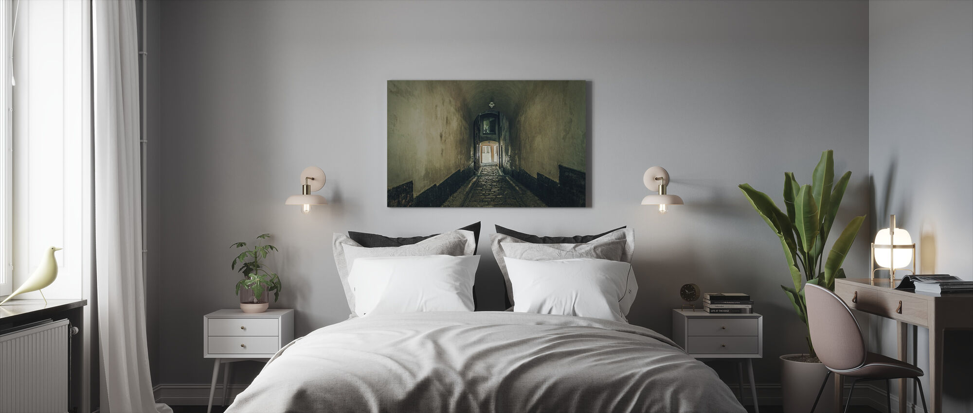 Tunnel Alley - Canvas print - Bedroom
