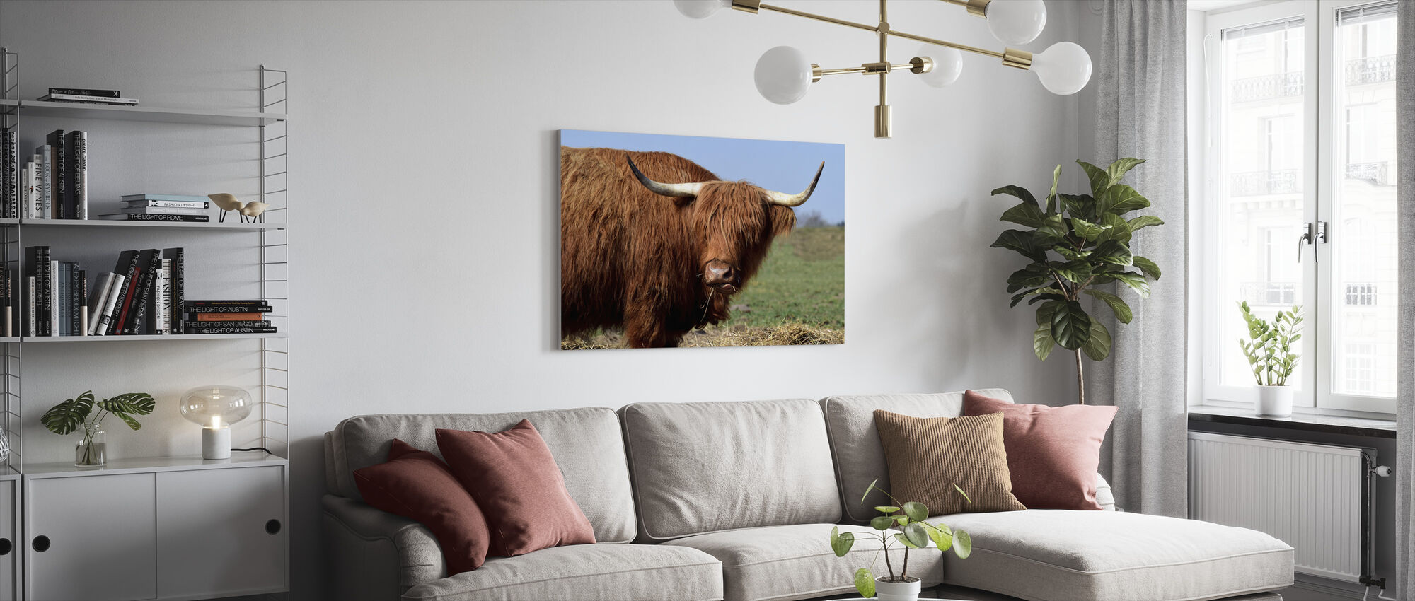 Galloway - Canvas print - Living Room