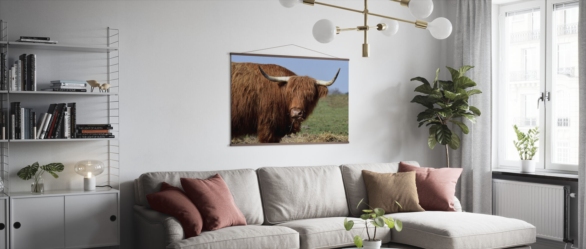 Galloway - Poster - Woonkamer