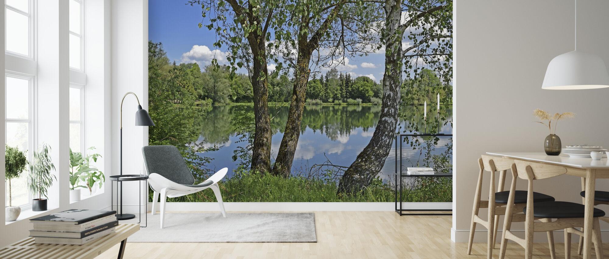 Lake Park - Wallpaper - Living Room