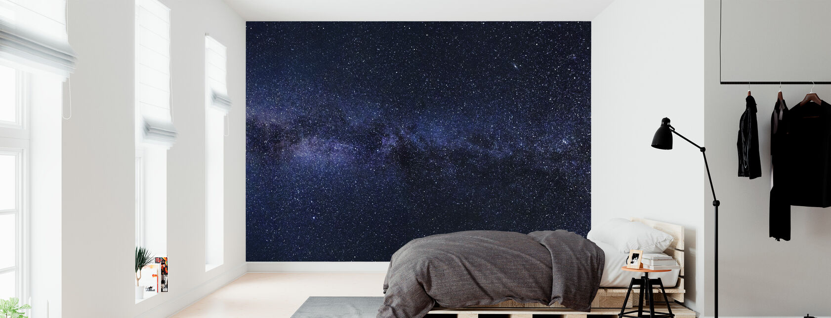 Mystical Starry Sky - Wallpaper - Bedroom