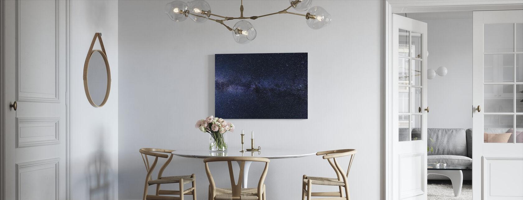 Mystieke sterrenhemel - Canvas print - Keuken