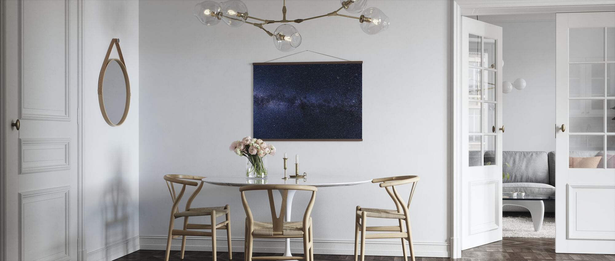 Mystical Starry Sky - Poster - Kitchen