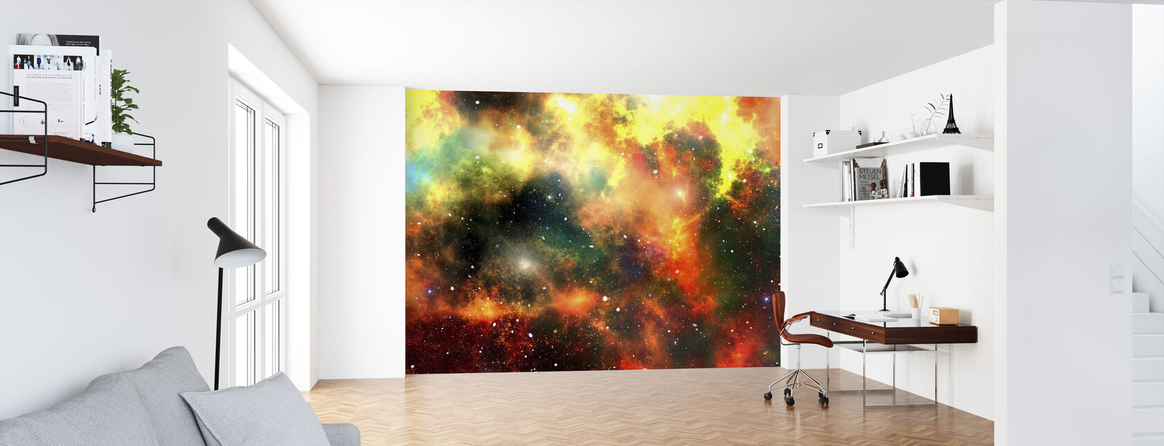 Outer Space - Wallpaper - Office