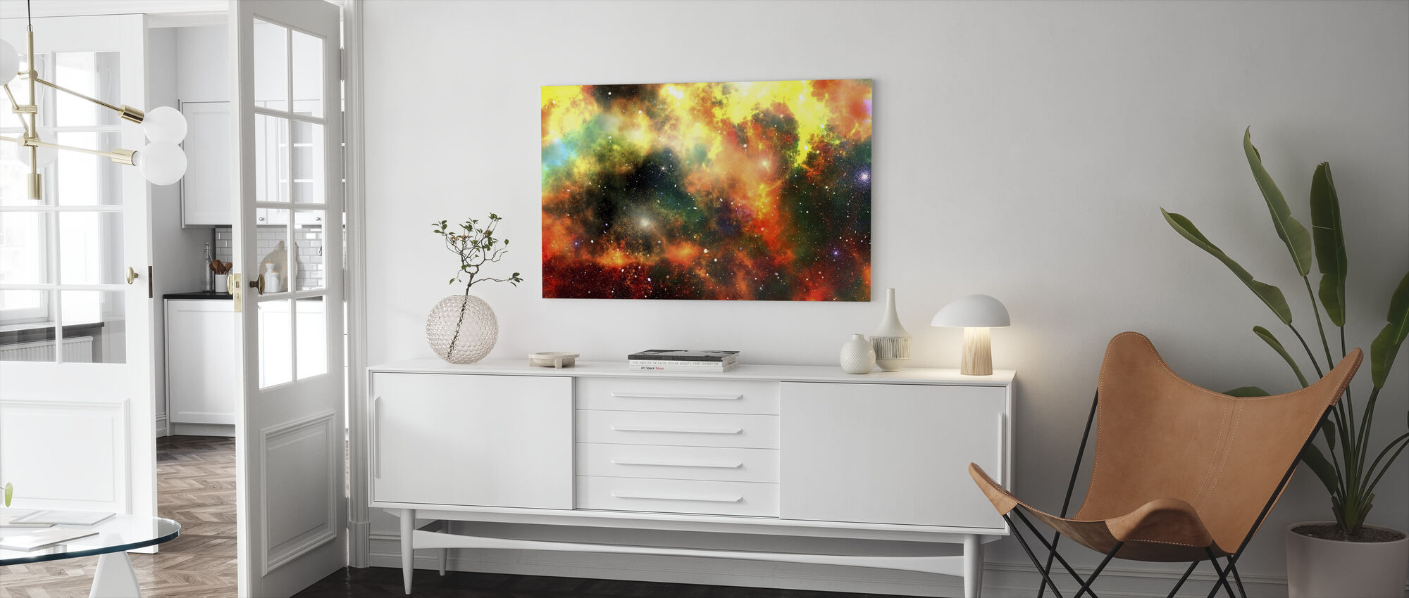 Outer Space - Canvas print - Living Room