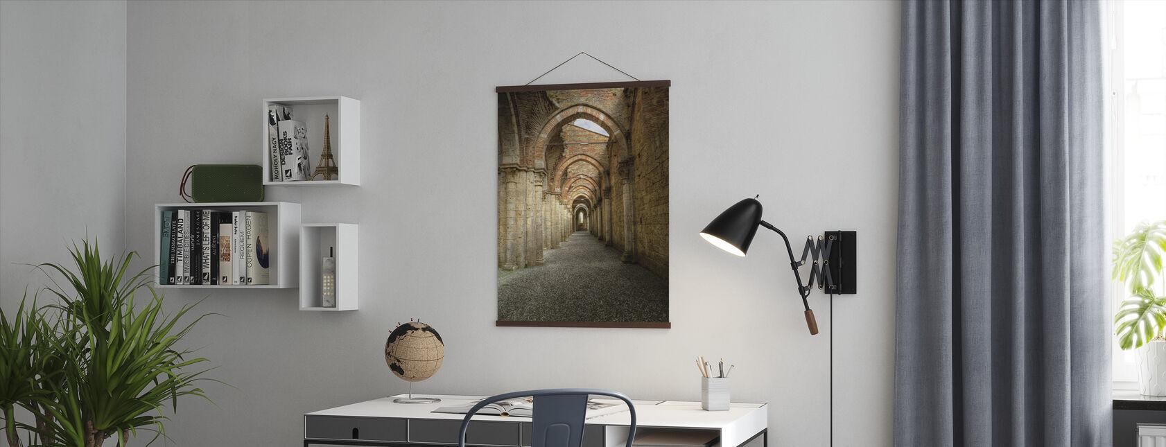 Gotisk buegang - Plakat - Kontor
