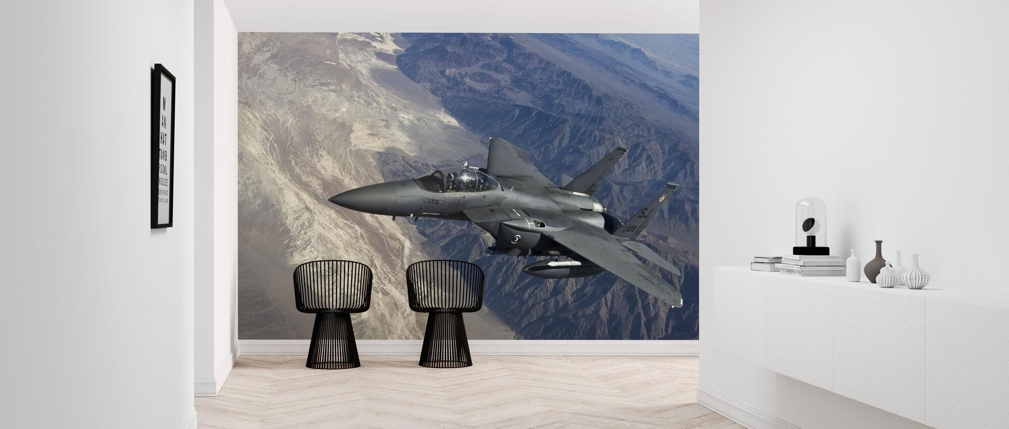 Airborne Fighter Jet - Wallpaper - Hallway
