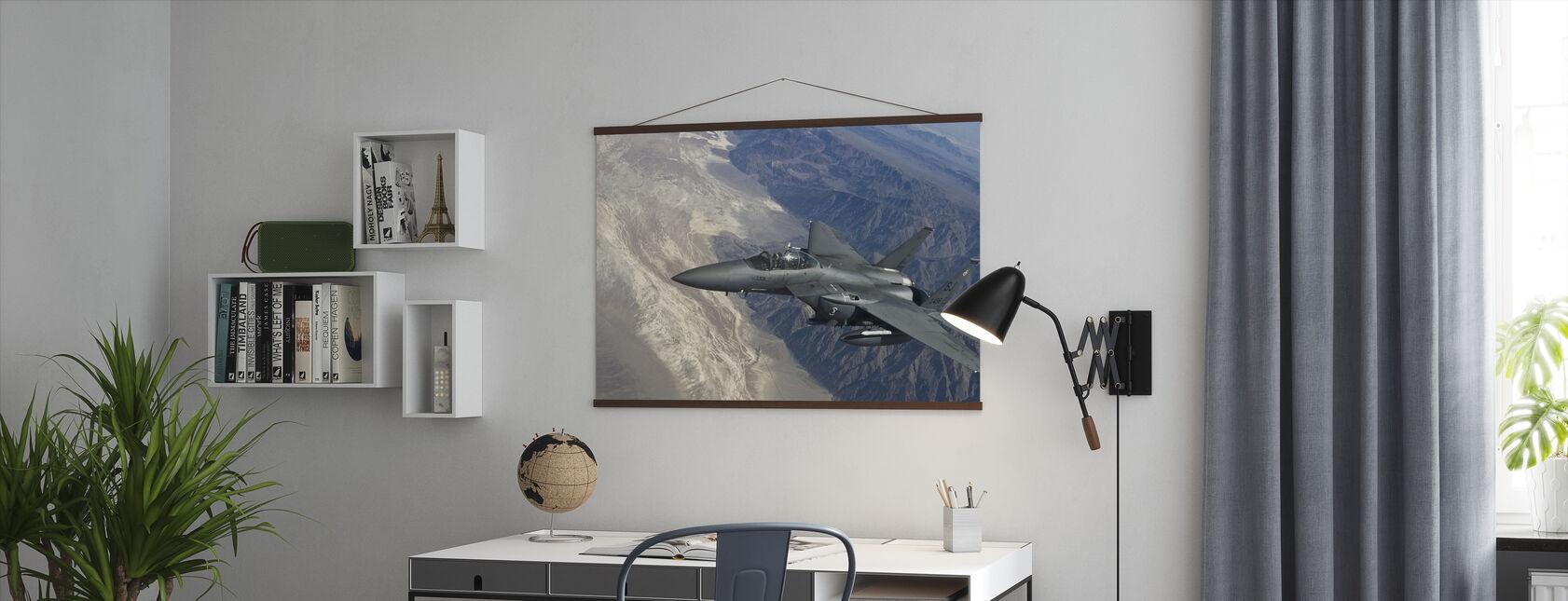Luftbårne Fighter Jet - Plakat - Kontor