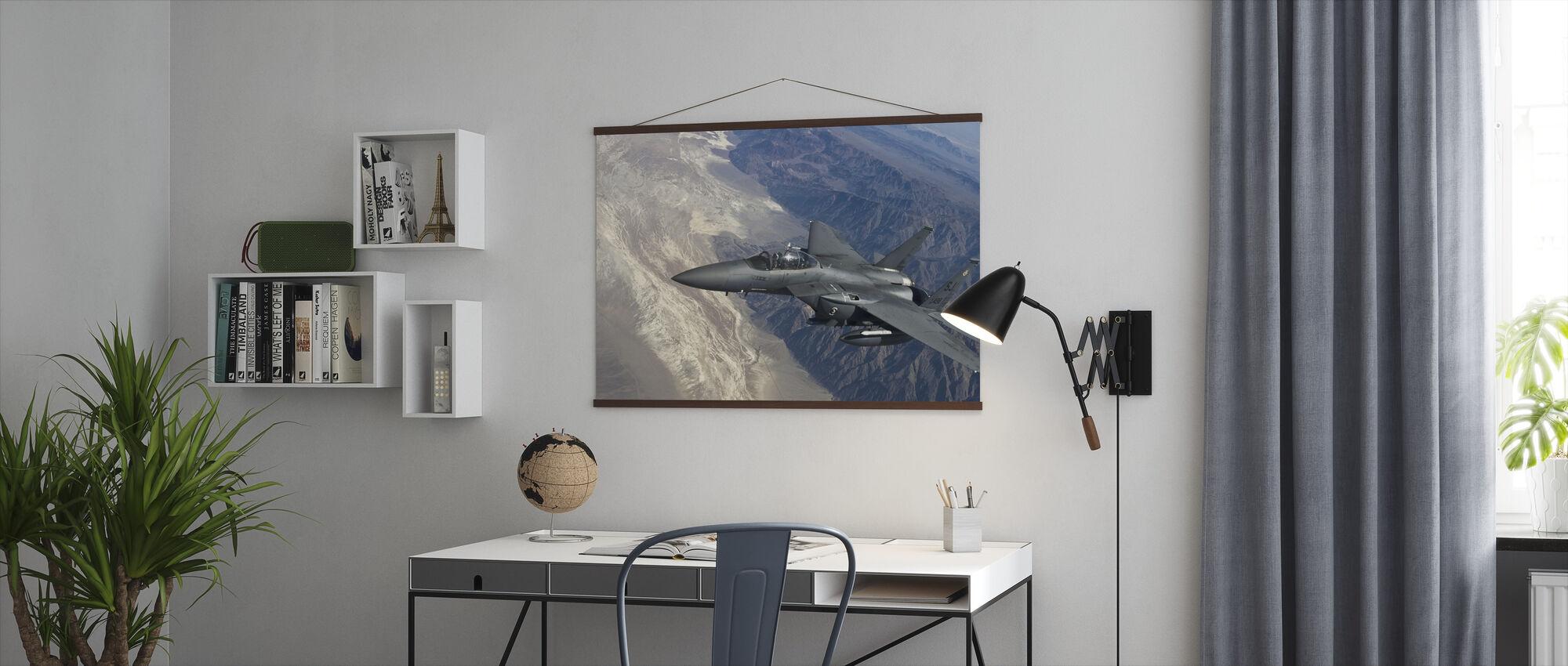 Luftbårne jagerfly - Plakat - Kontor