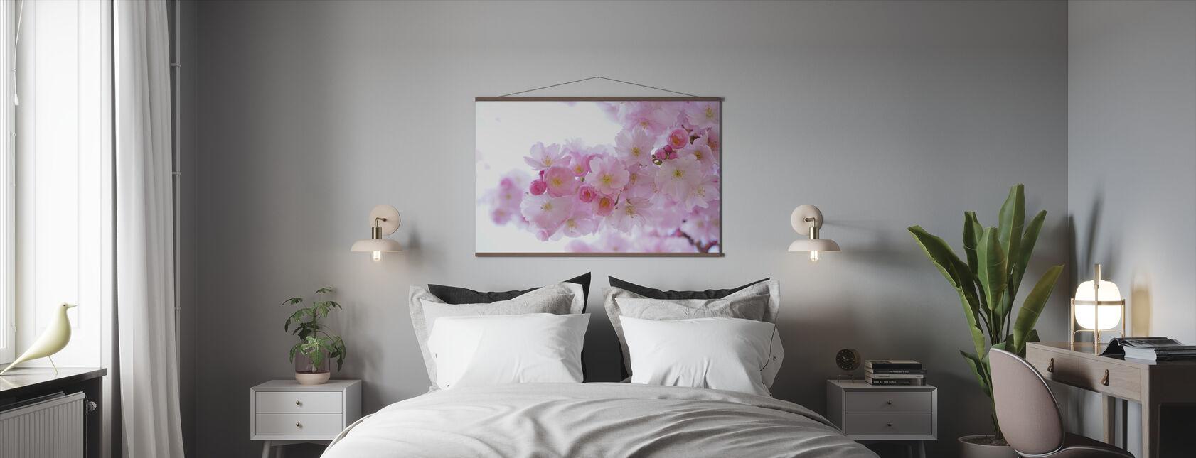 Blossom Cherry Flowers - Poster - Bedroom