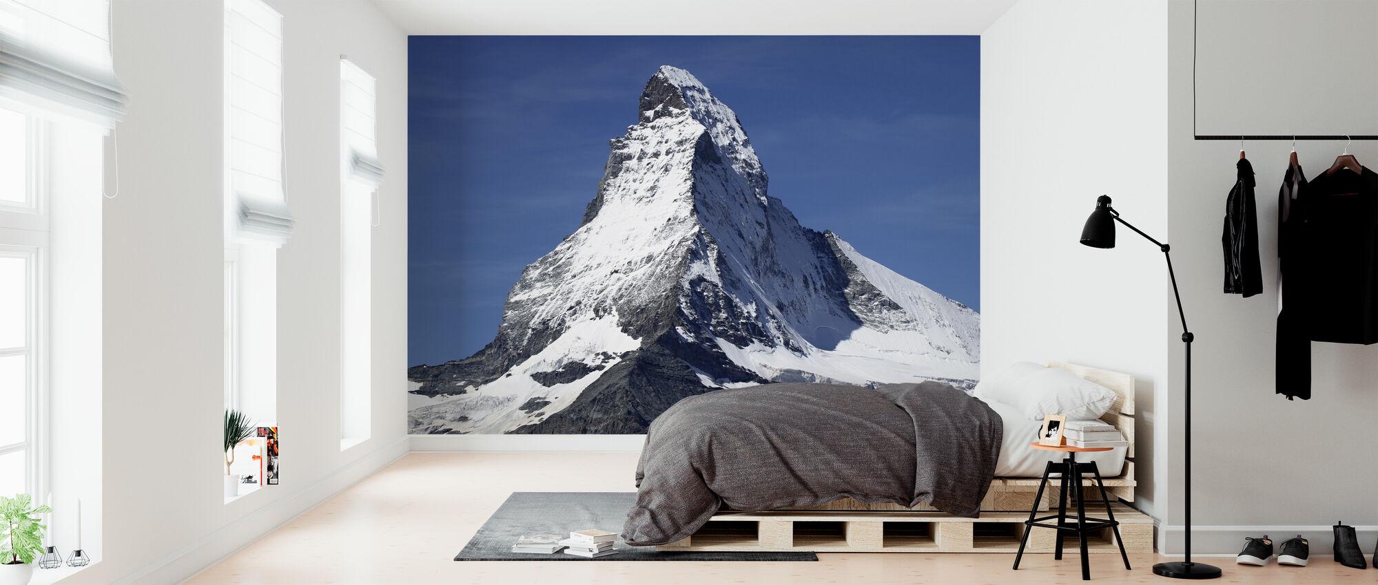 Matterhorn bergstoppen - Tapet - Sovrum