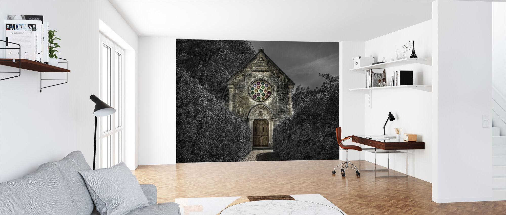 Spooky Church - Wallpaper - Office