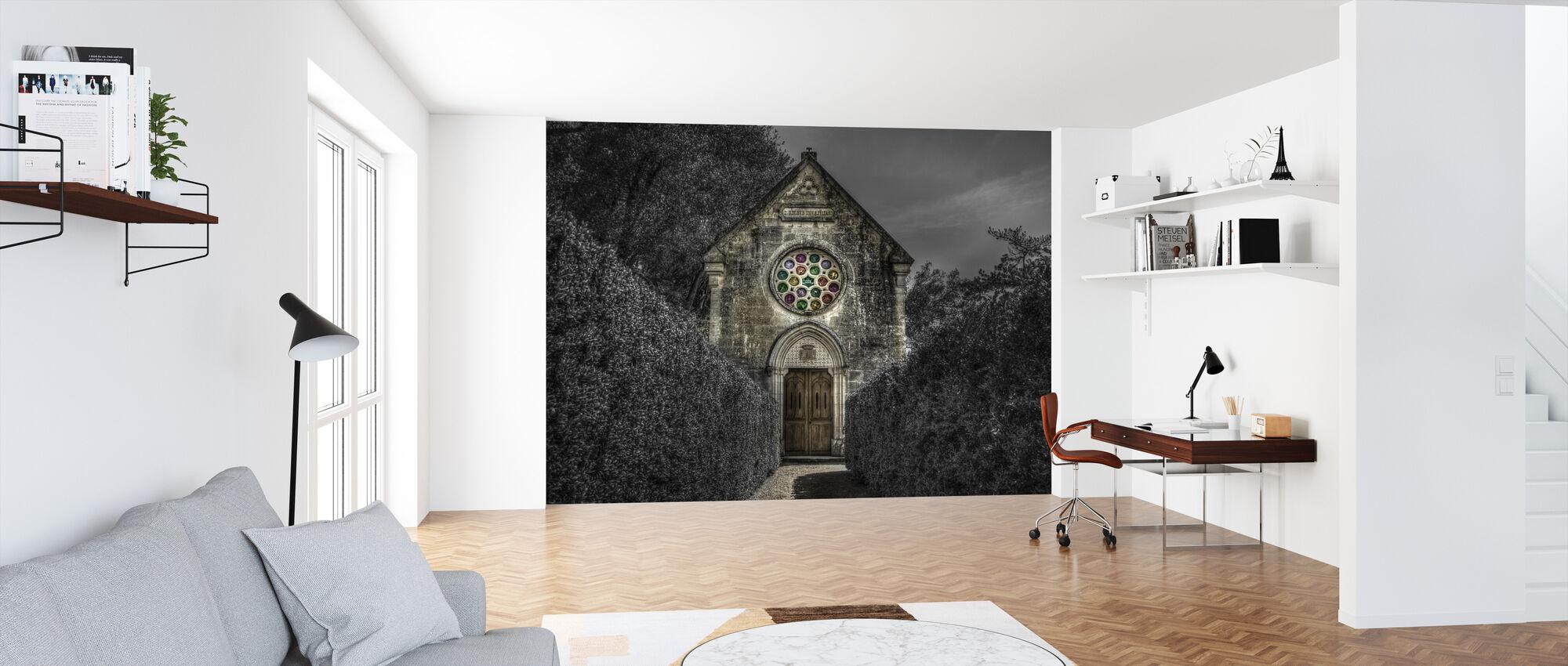 Spooky kirke - Tapet - Kontor