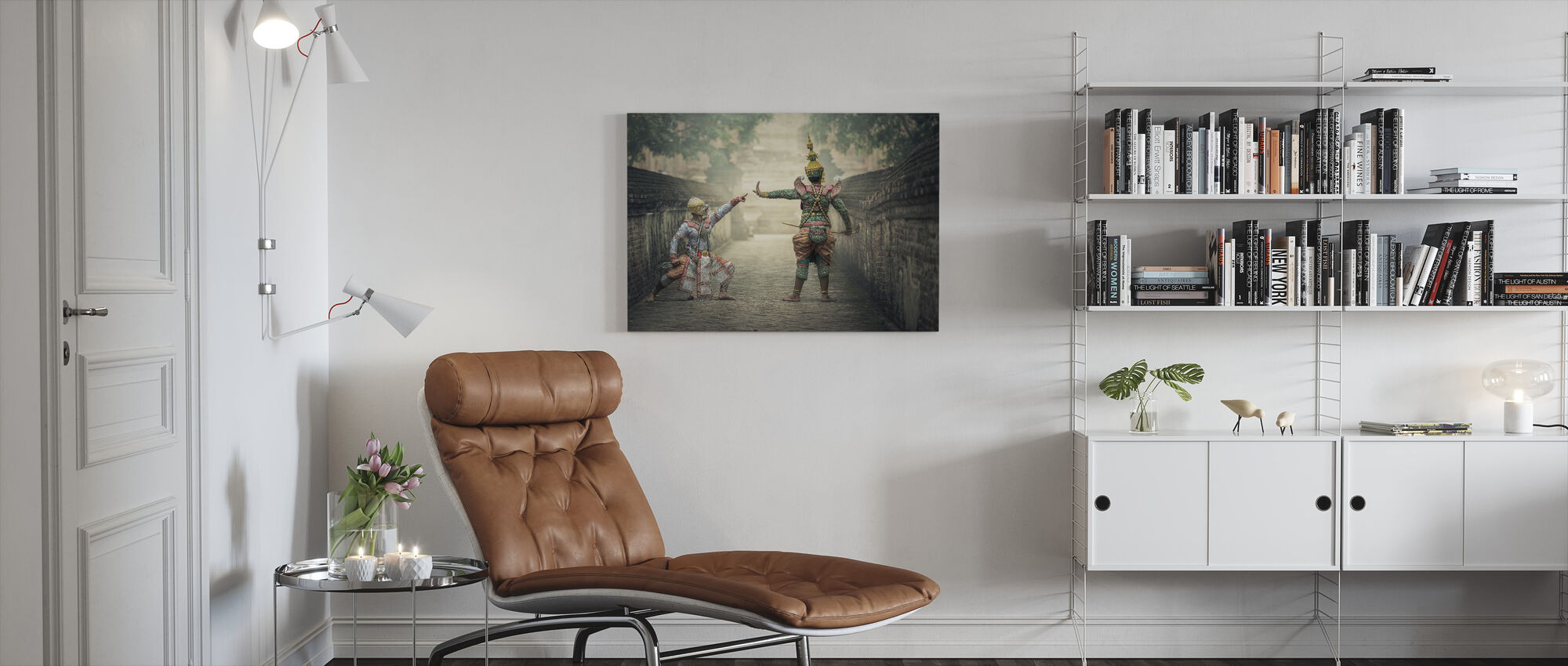 Traditional Costumes - Canvas print - Living Room