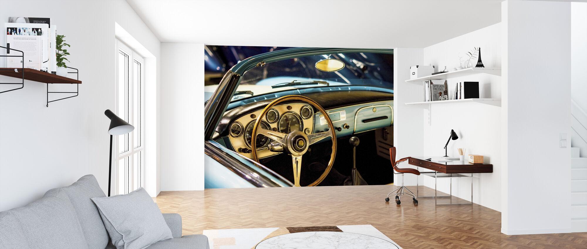 Klassiska Maserati - Tapet - Kontor