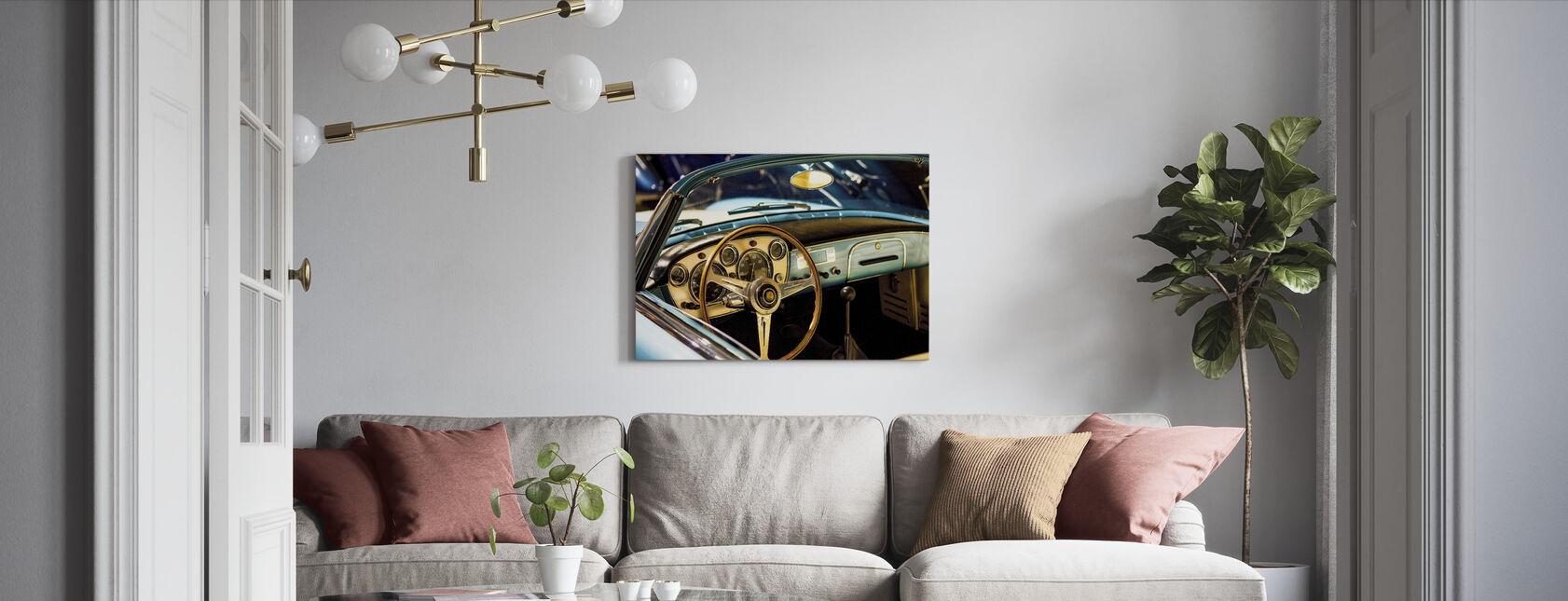 Classic Maserati - Canvas print - Living Room