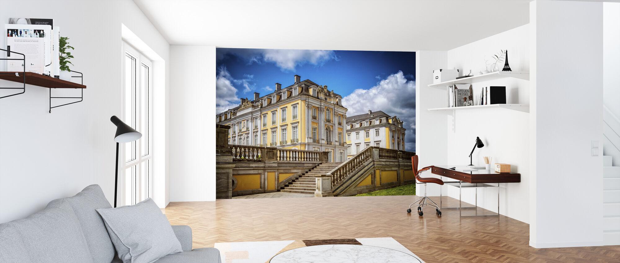 Baroque Castle - Wallpaper - Office