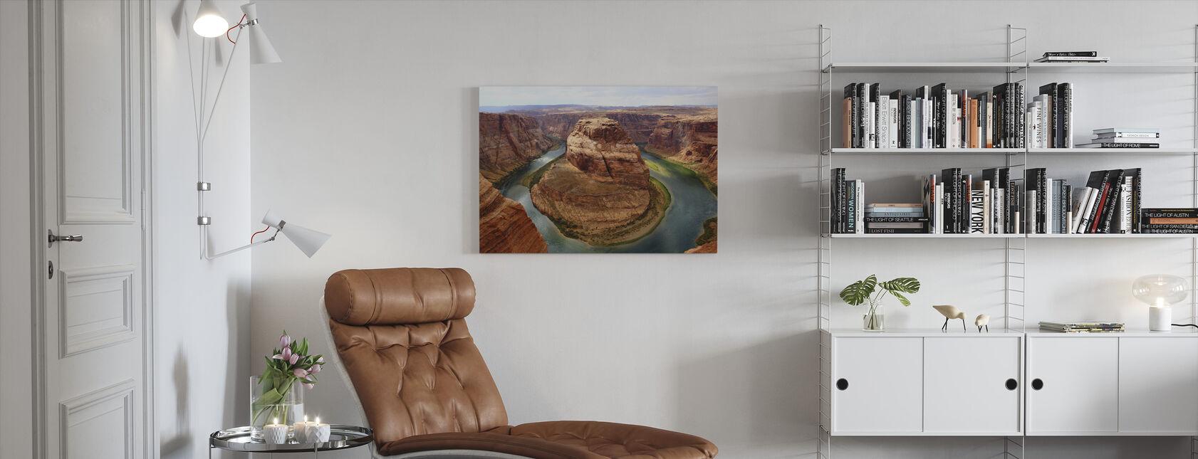 Horseshoe Bend - Canvas print - Living Room