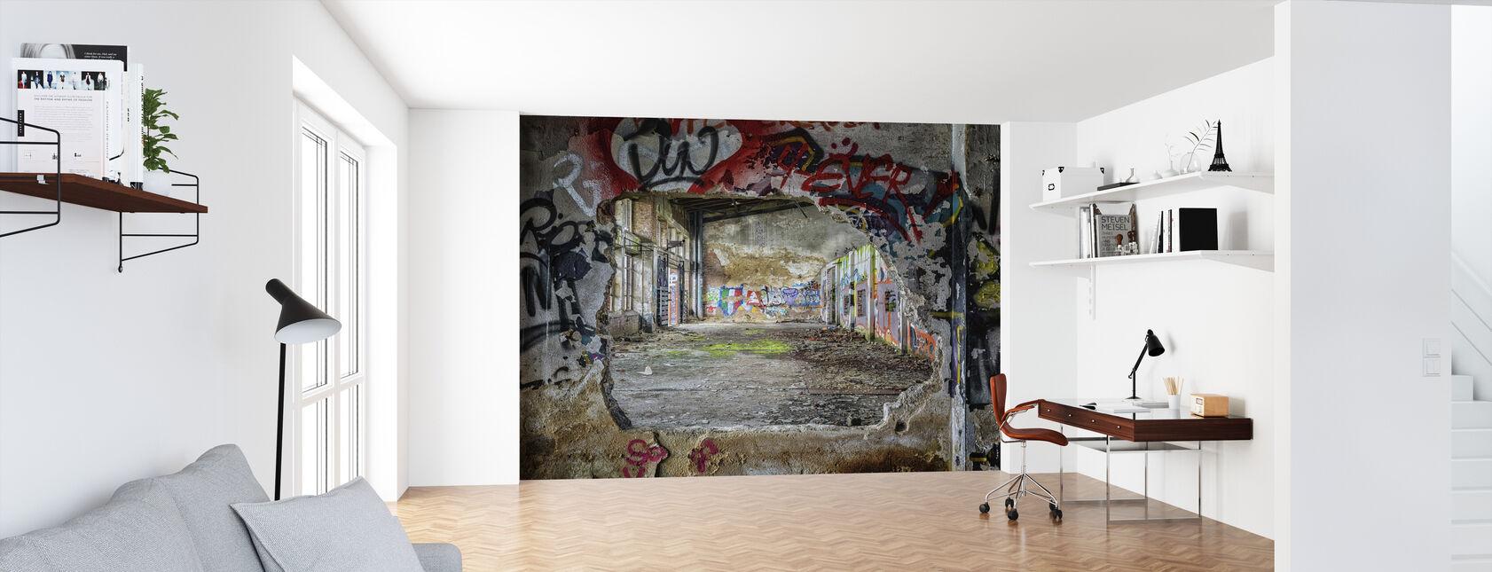 Veggkunst graffiti - Tapet - Kontor