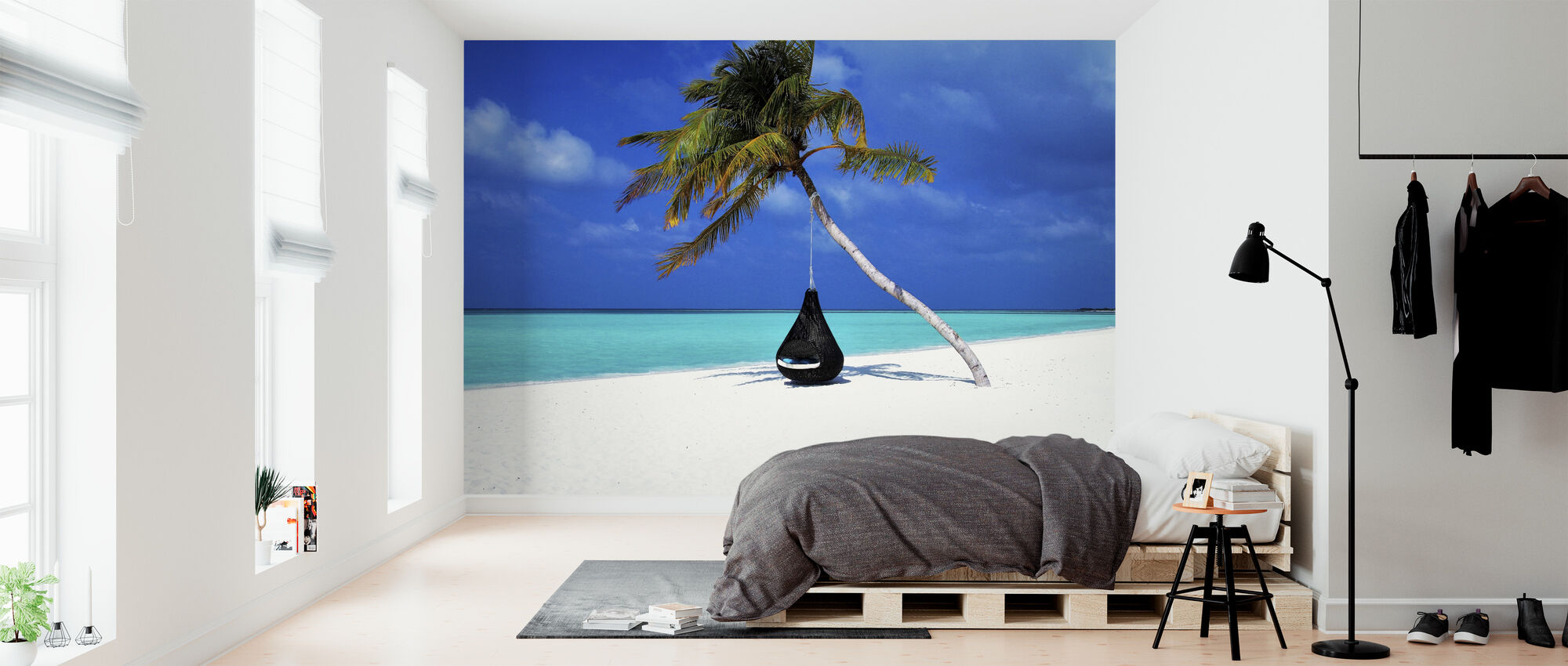 Beautiful Sand and Beach - Wallpaper - Bedroom