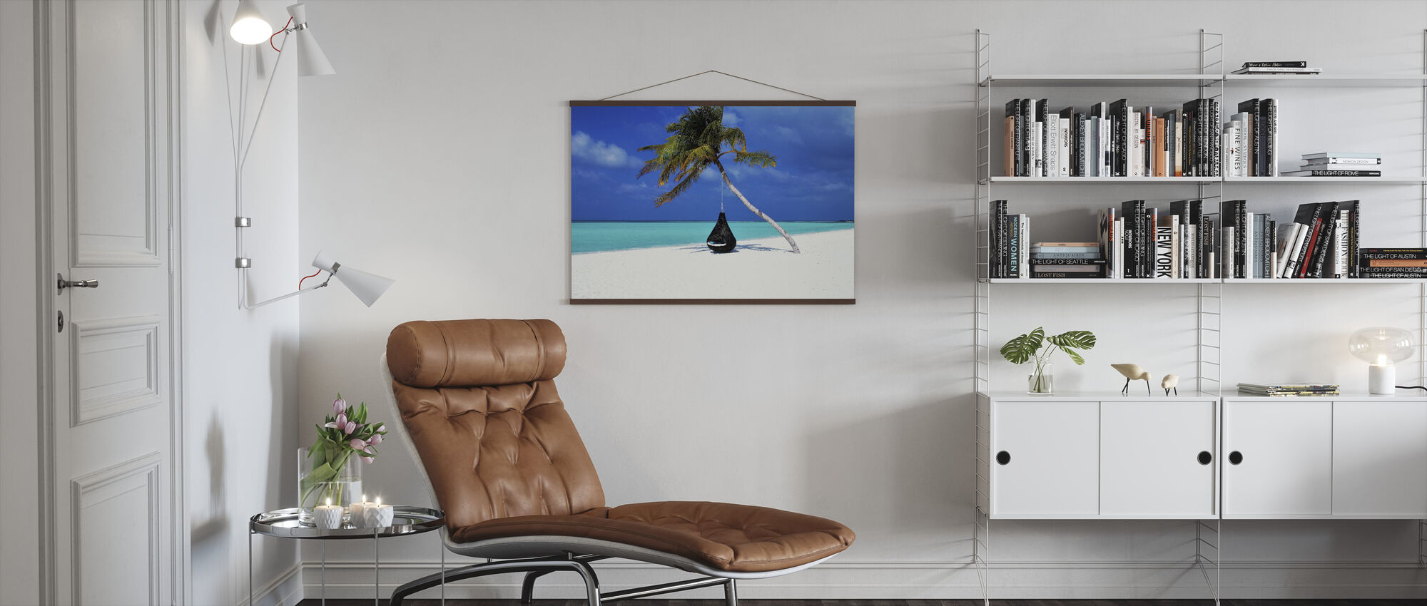 Beautiful Sand and Beach - Poster - Living Room