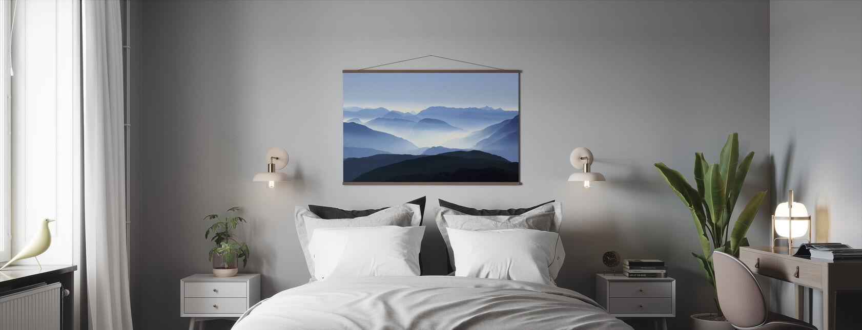 Mountain Haze - Poster - Bedroom