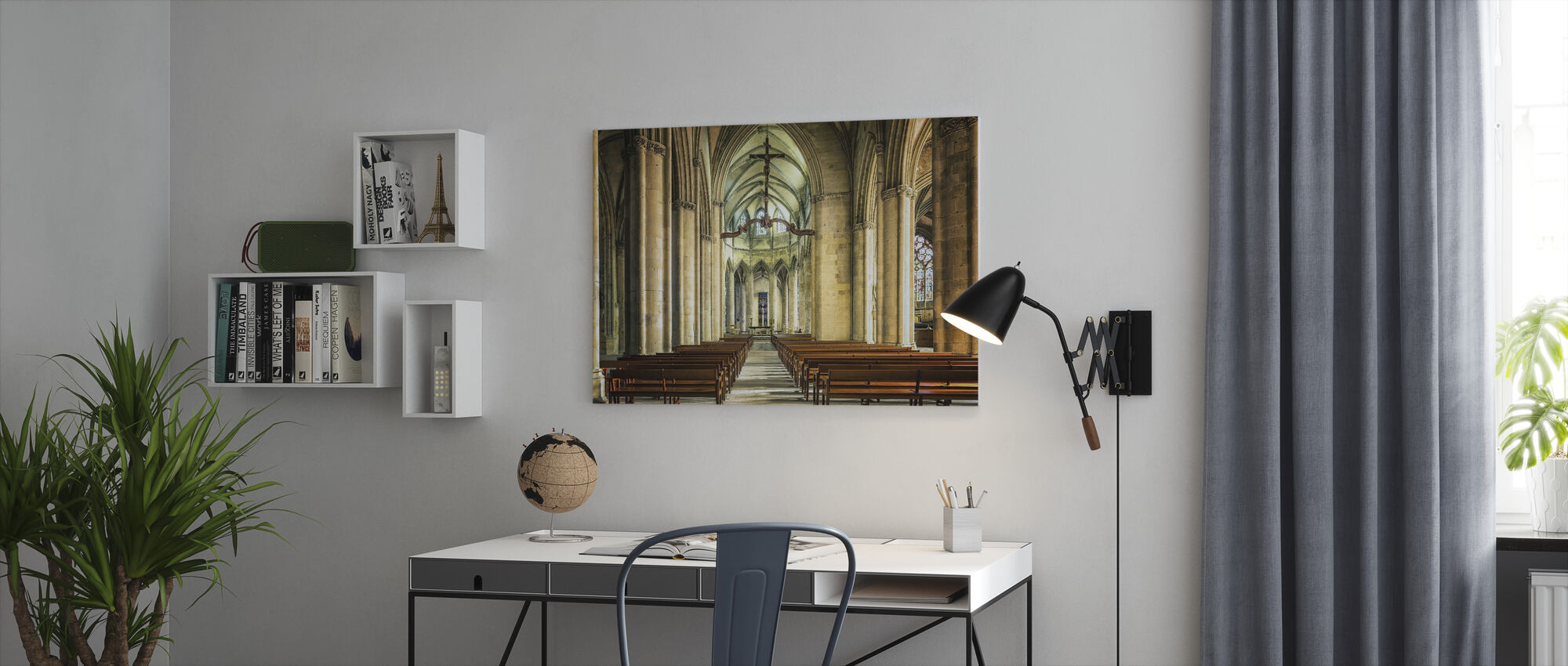 Cathedral - Canvas print - Office