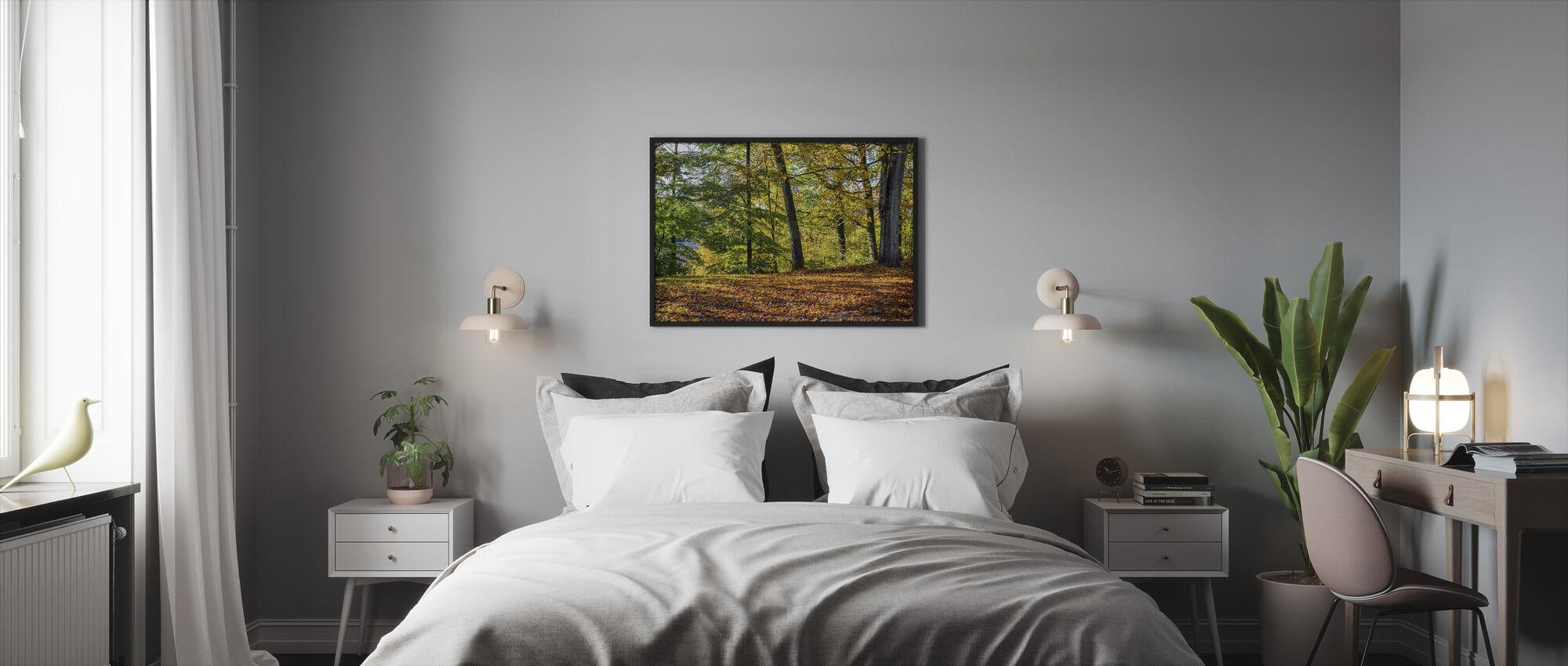 Autumn Forest - Framed print - Bedroom