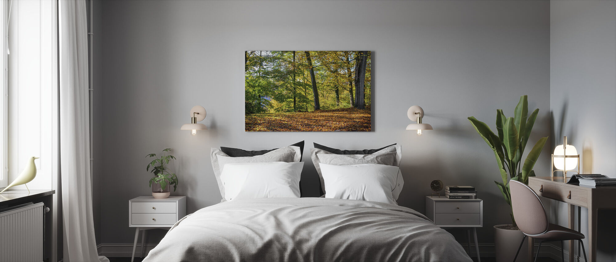 Autumn Forest - Canvas print - Bedroom