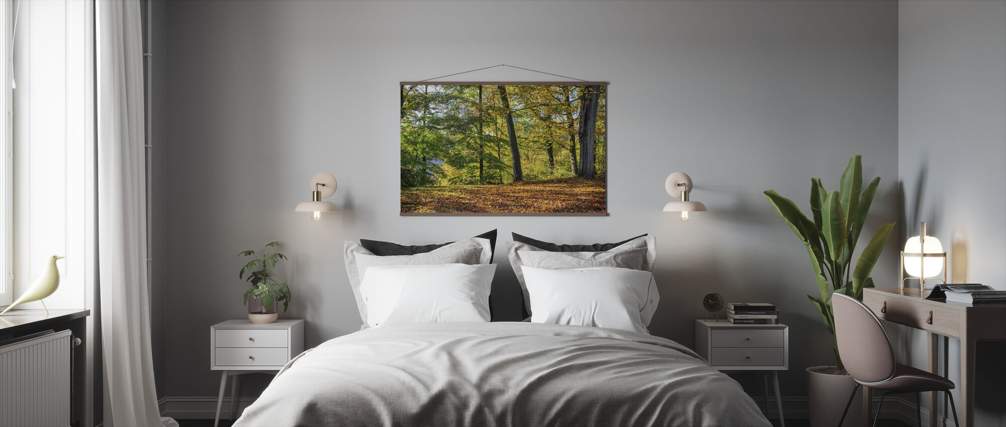 Autumn Forest - Poster - Bedroom
