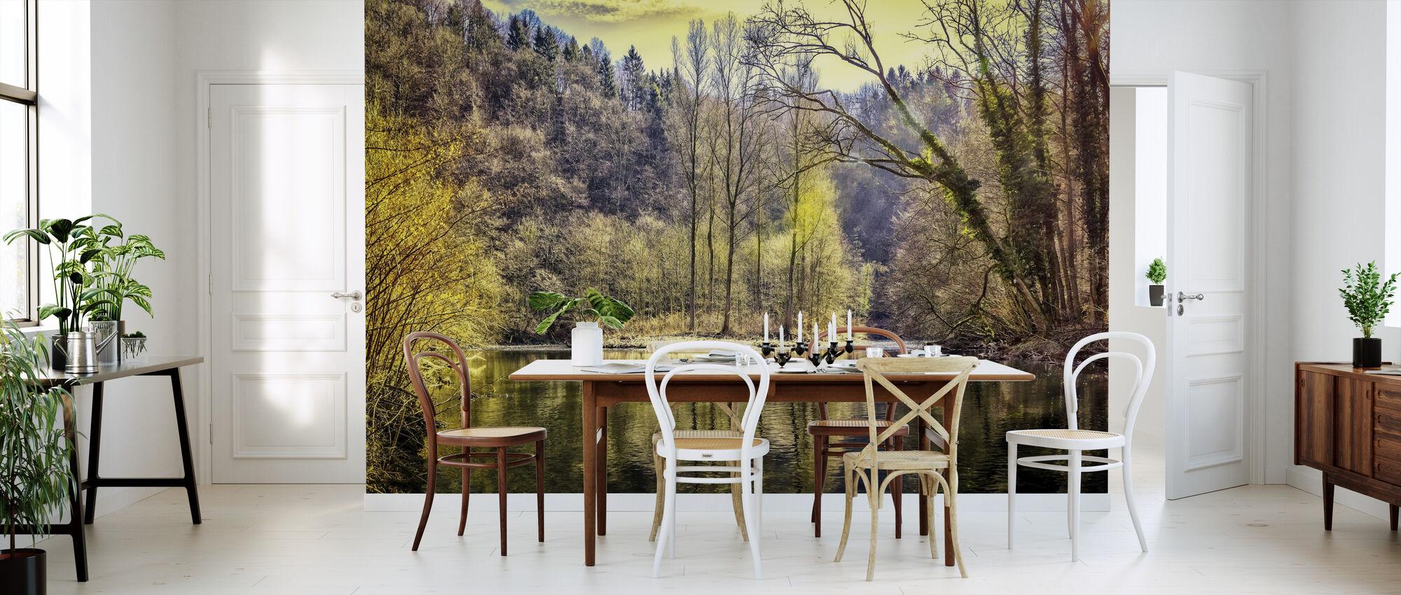 River Forest - Wallpaper - Kitchen