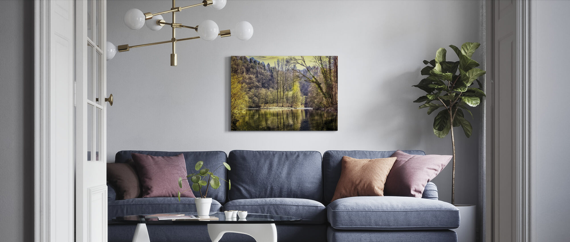 River Forest - Canvas print - Living Room