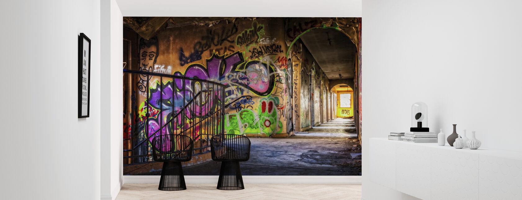 Colorful Grafitti - Tapet - Entré