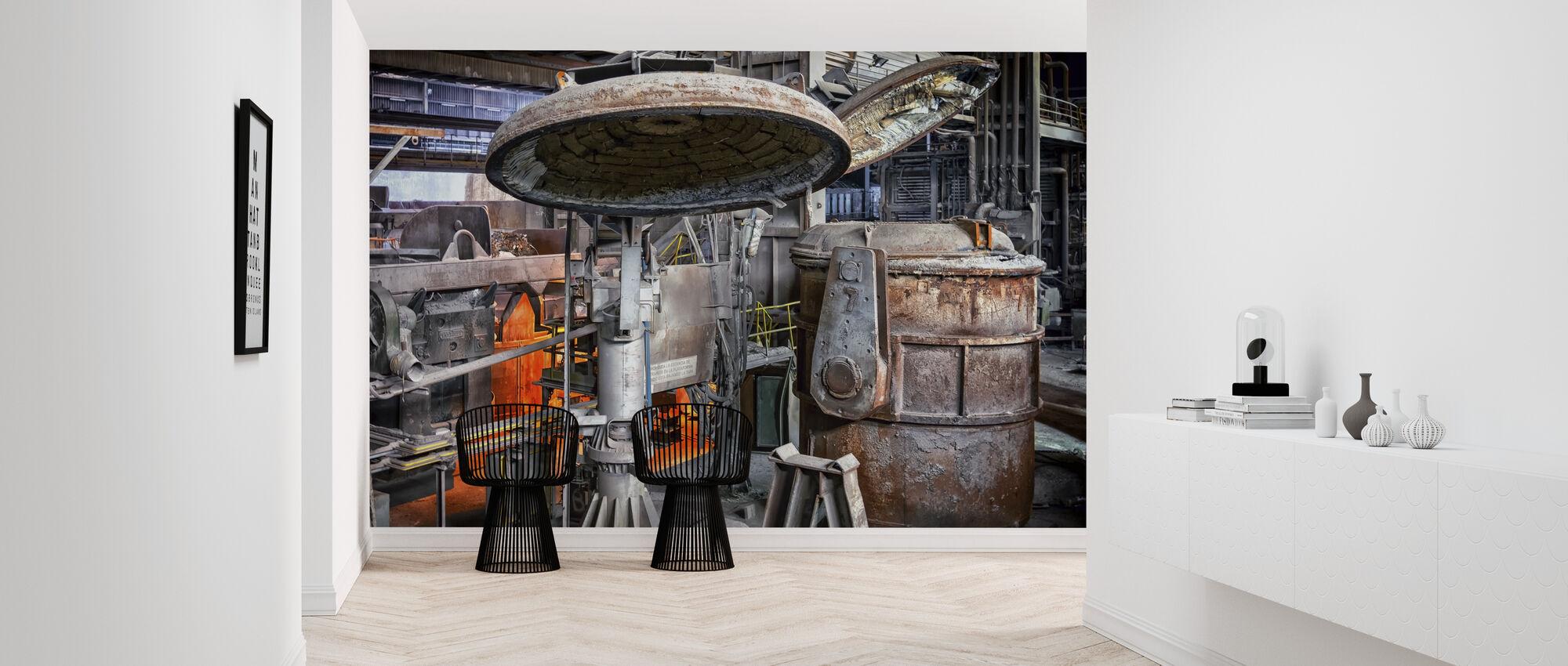 Steel Boiler Factory - Wallpaper - Hallway