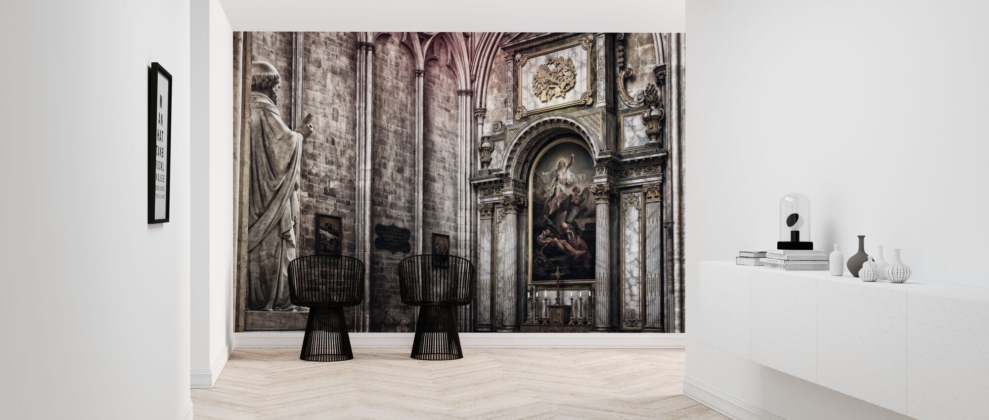 Altar - Wallpaper - Hallway