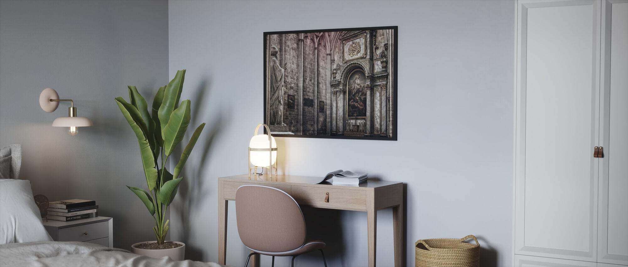 Altar - Framed print - Bedroom