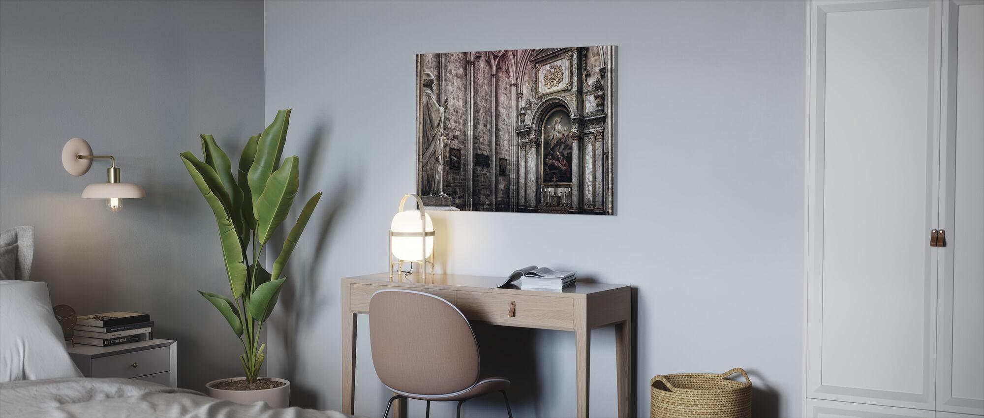 Altar - Canvas print - Office