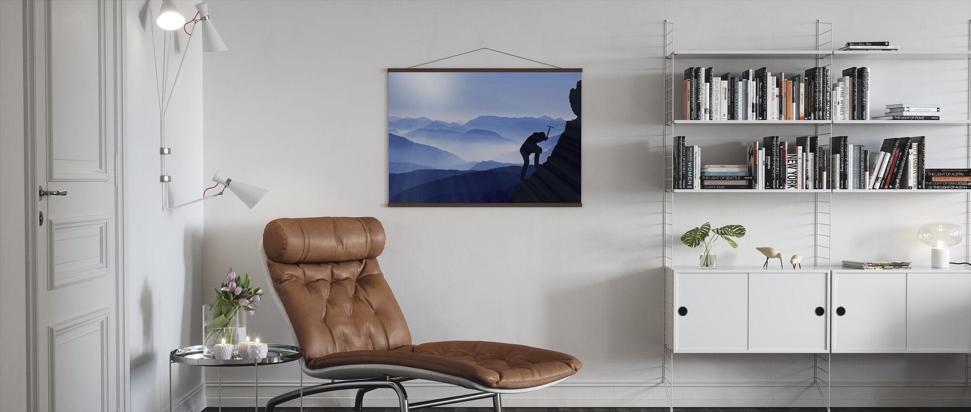 The Climb - Poster - Living Room