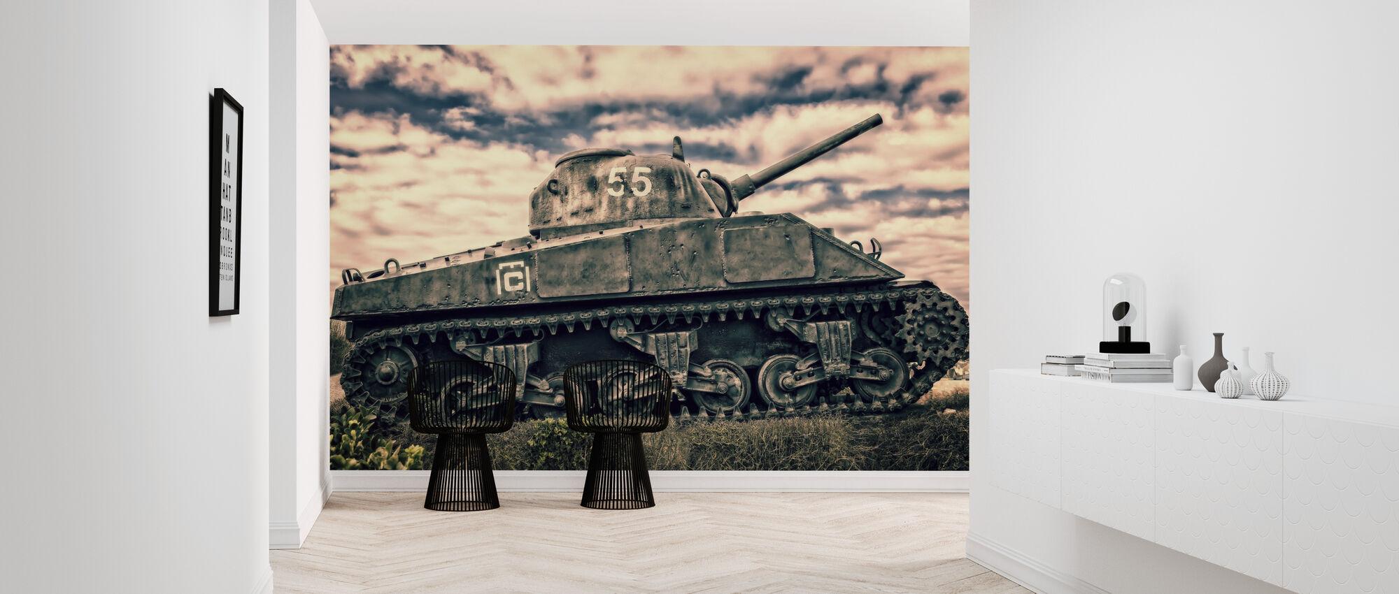 War Tank - Wallpaper - Hallway