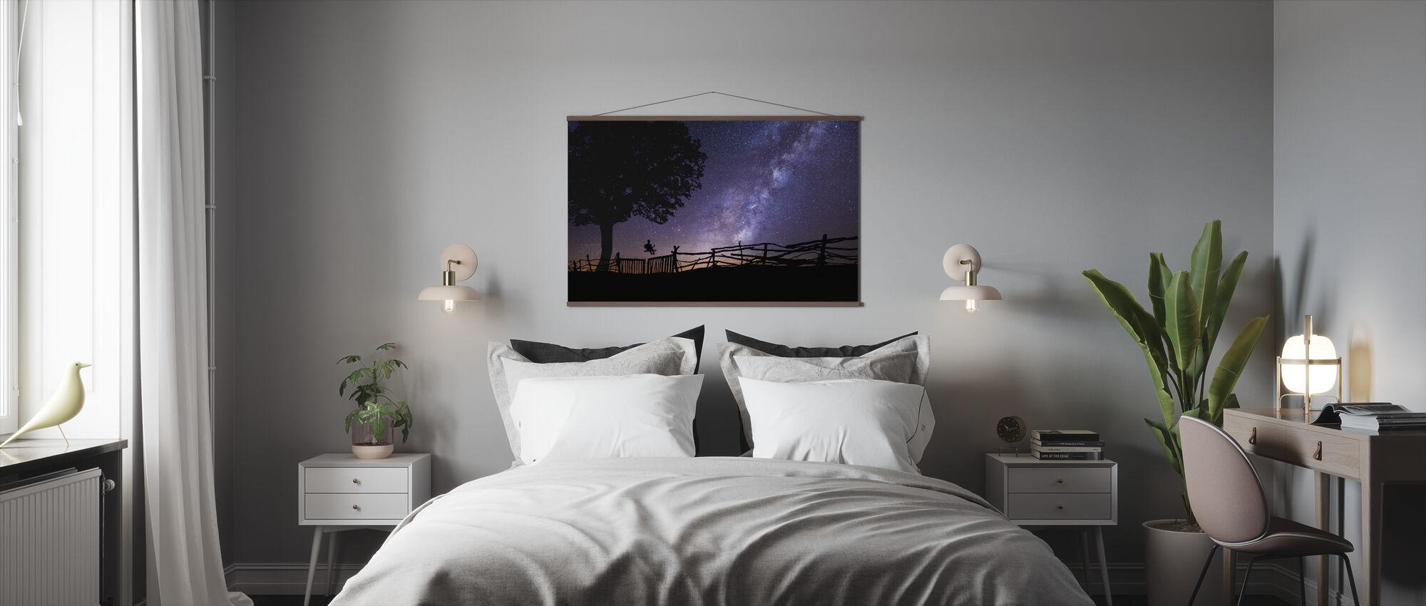 Starry Night Sky - Poster - Bedroom