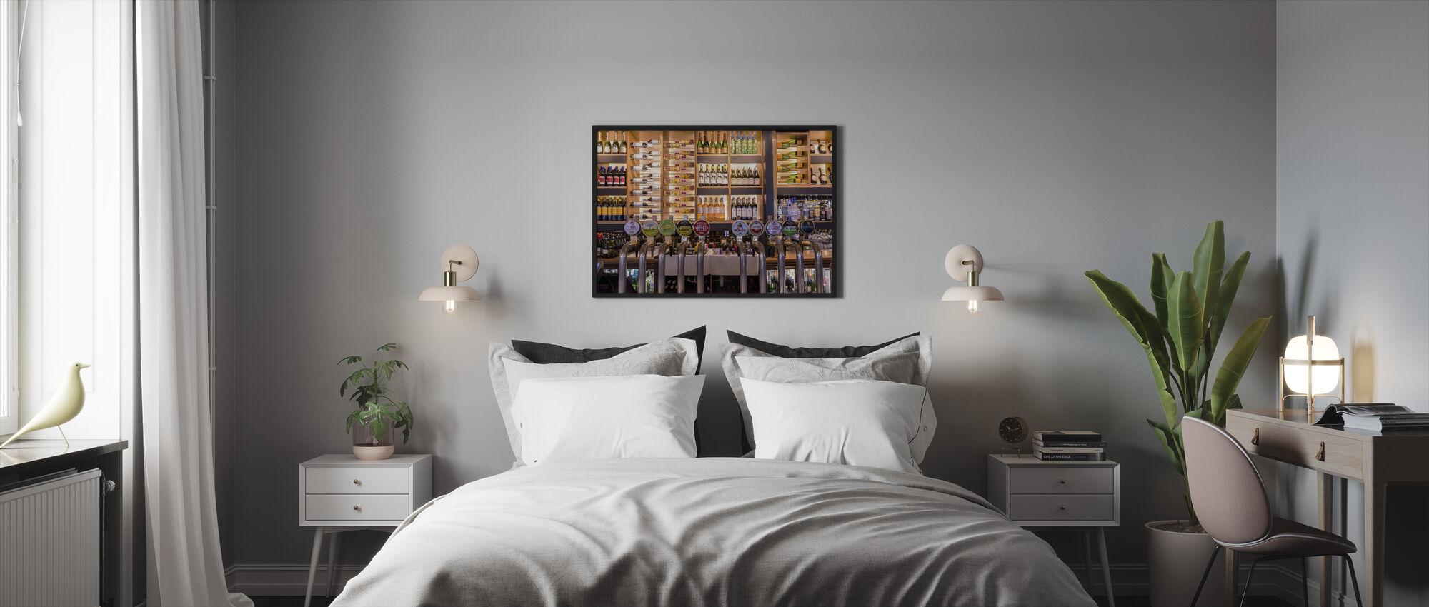 Pubi - Kehystetty kuva - Makuuhuone