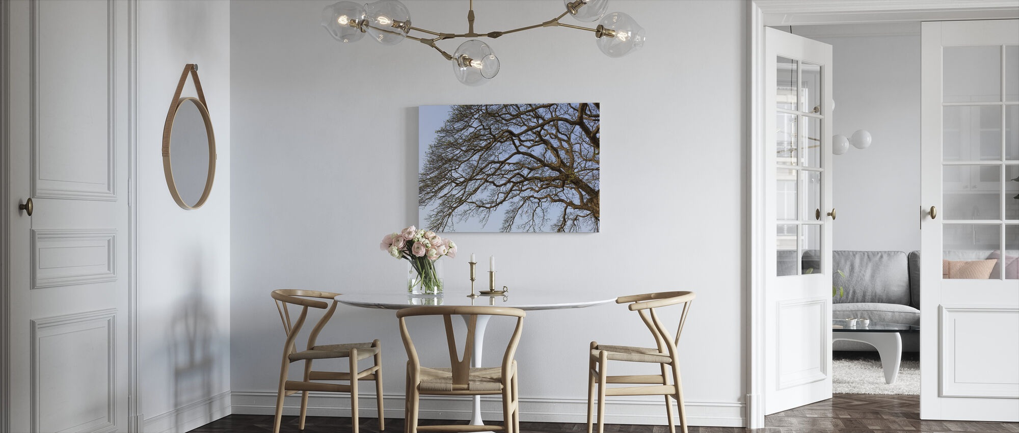 Dry Tree - Canvas print - Kitchen