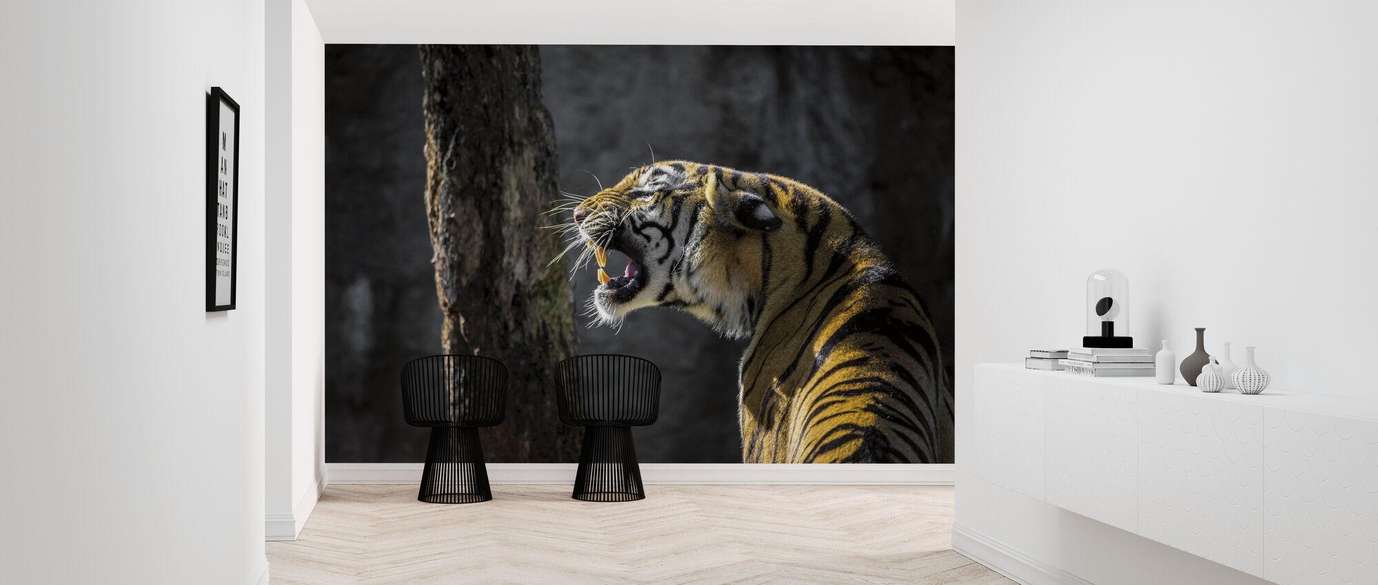 Tiger brølende - Tapet - Gang