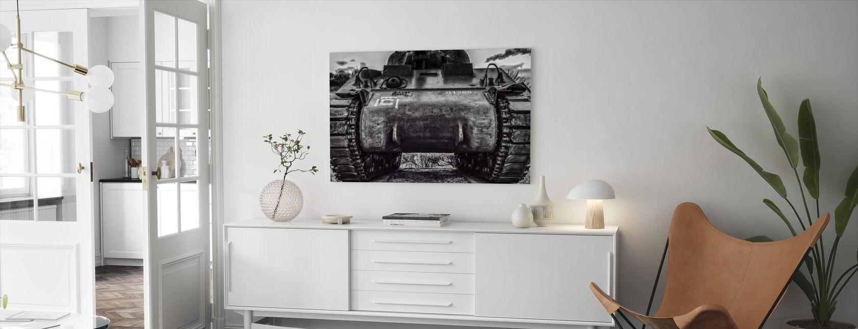 Gamla kriget Tank - Canvastavla - Vardagsrum