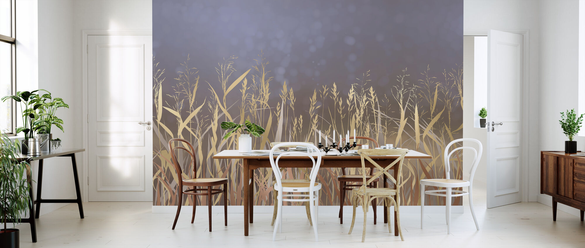 Lightening Grass I - Wallpaper - Kitchen
